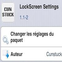 Modifier facilement votre lockscreen avec le tweak Lockscreen Settings - http://www.applophile.fr/modifier-facilement-votre-lockscreen-avec-le-tweak-lockscreen-settings/