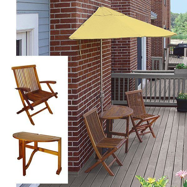 Terrace Mates Caleo Premium 9 Ft. Yellow Olefin Set (Yellow / Wood) (See Description)