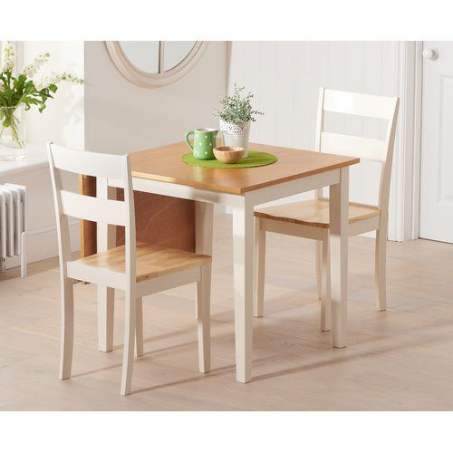 Beachcrest Home Beckville Folding Dining Set With 2 Chairs Space