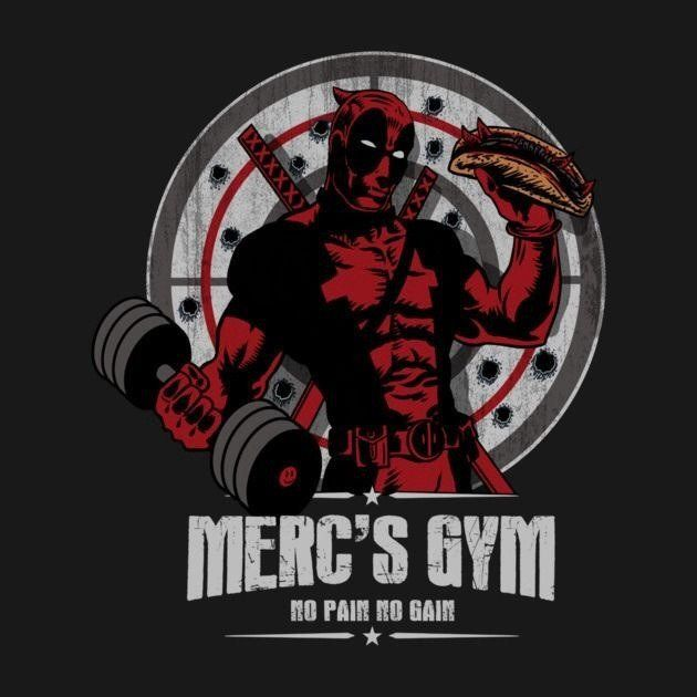 FREE POSTAGE DEADPOOL MERC ACADEMY SUPER HERO KIDS T SHIRT