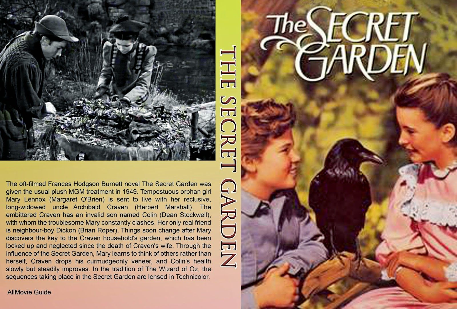 Car tula dvd el jard n secreto 1949 the secret garden for El jardin secreto torrent