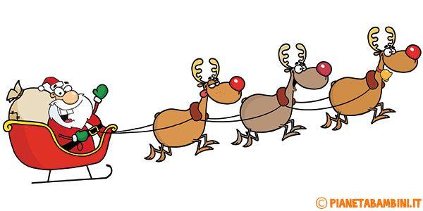 Immagini Di Natale Da Stampare Gia Colorate.30 Disegni Di Babbo Natale Gia Colorati Da Stampare