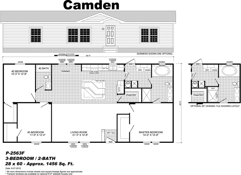 Live oak mobile home floor plans gurus floor Wayne homes floor plans