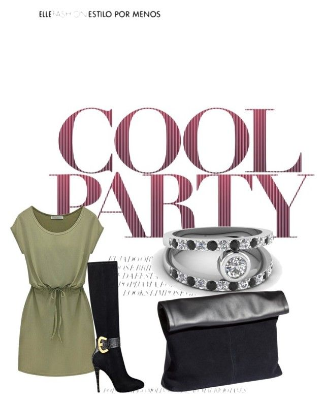 Cool Party by fascinatingdiamonds1 on Polyvore featuring GUESS, H&M, fascinatingdiamonds and blackdiamondjewelry