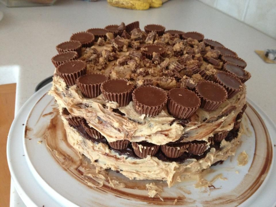 Reeses cake from beth blankenship reeses cake sweet
