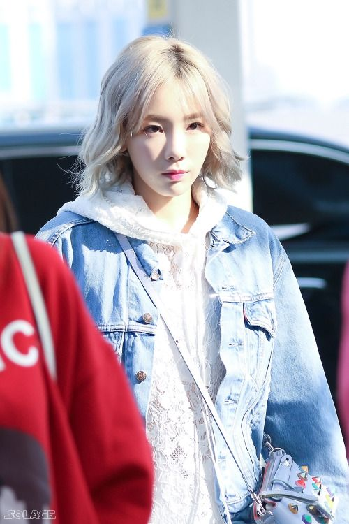 Taeyeon #leader #SNSD #airport