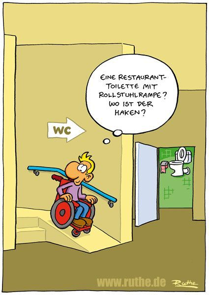 Wheelchair Cartoons And Comics Funny Pictures From Cartoonstock