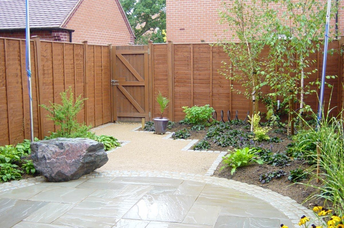Merveilleux Beautiful Small Backyard Garden Design Ideas With Sand Pathways U0026 Slate  Pavings   Patio U0026 Garden.