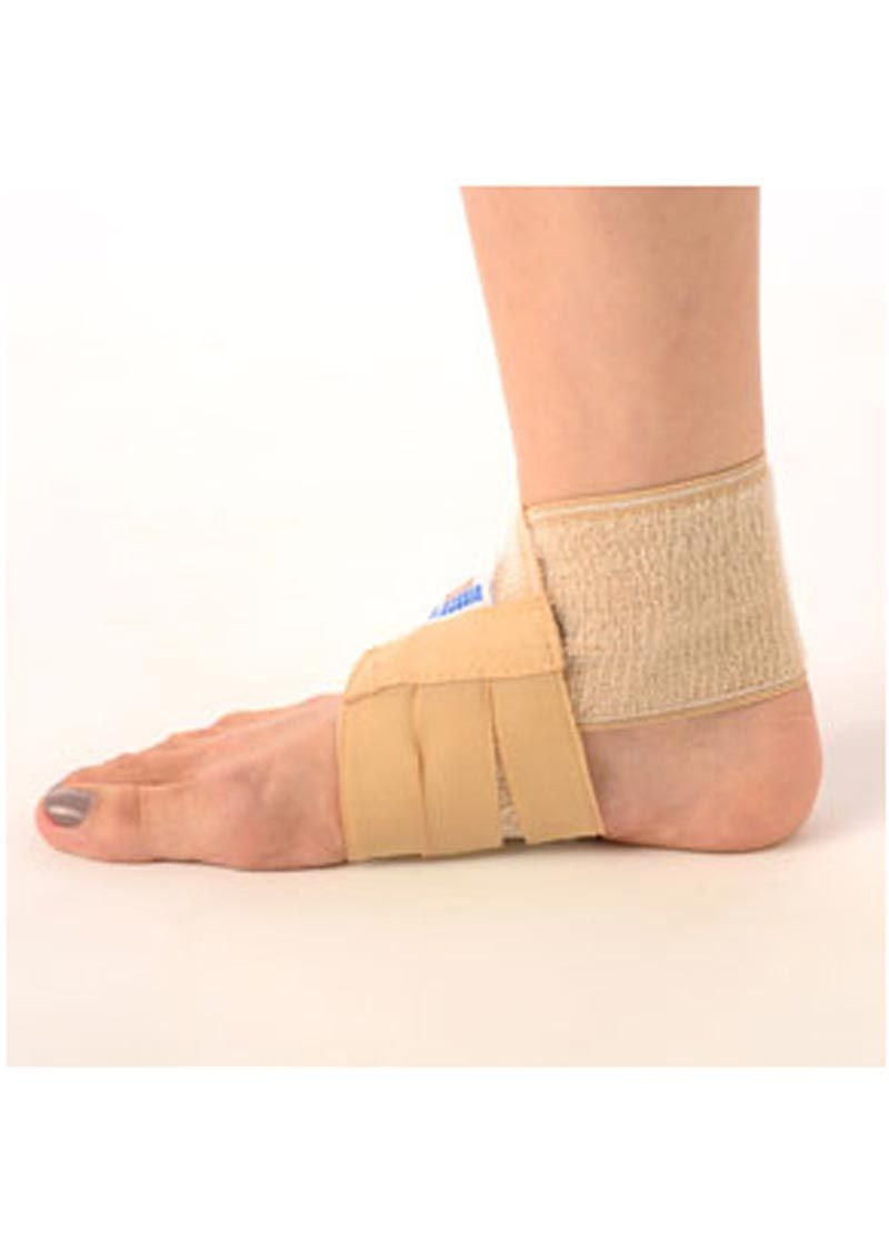 Ankle tape helps increase ankle support ankle taping