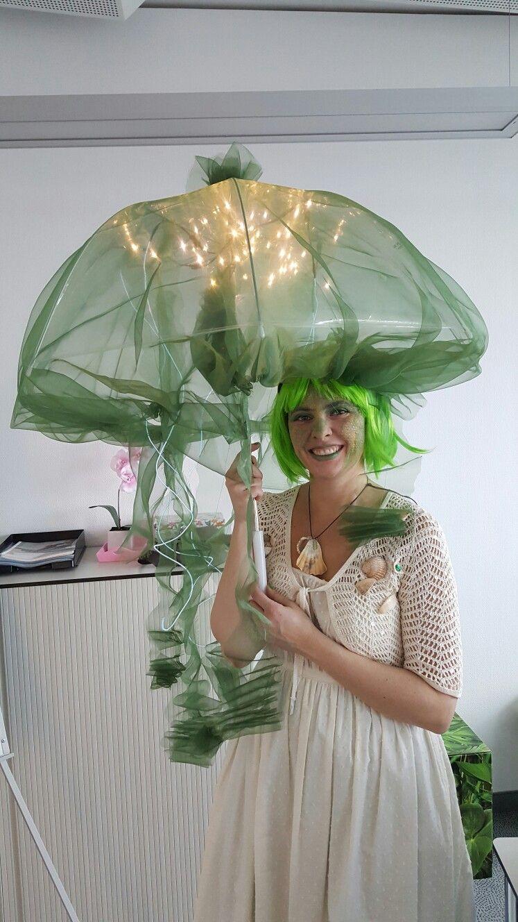 Jellyfish Qualle Karneval Kostum Regenschirm Karneval In 2019