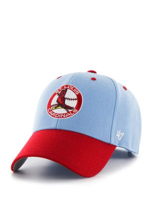 47 St Louis Cardinals Mens Light Blue Audible Adjustable Hat.   c6c0396f63e