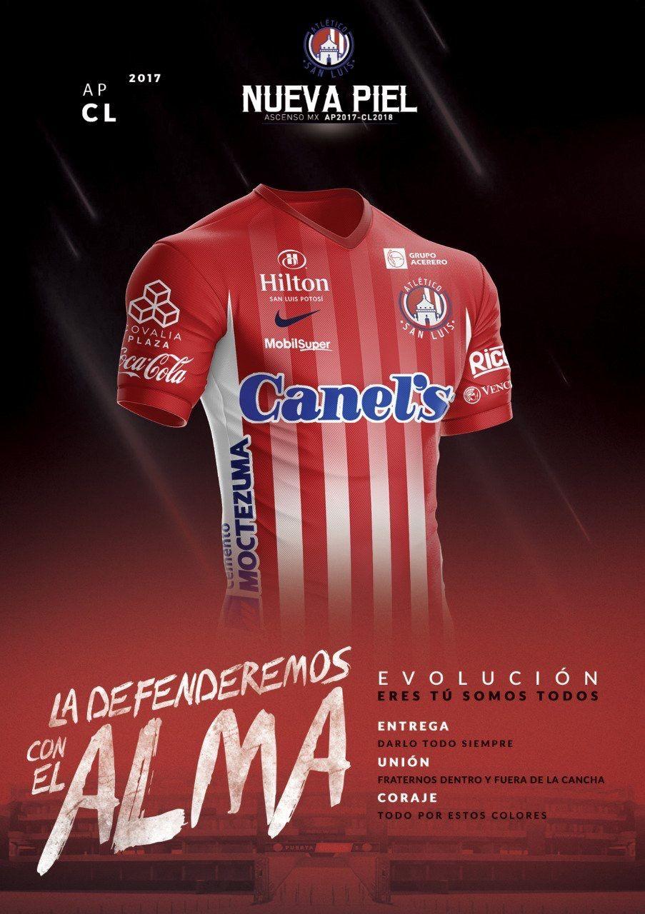 Atlético San Luis ascenso Mx 17-18 Logos Deportivos e6a8a2dd832fe