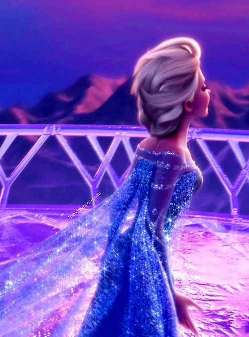 Photo of Gorgeous Elsa screencap :) uploaded by Lauren