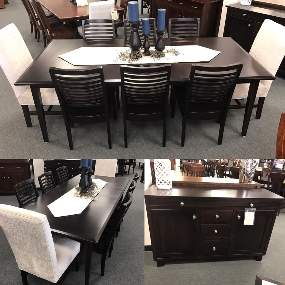 Formal dinner table decorations add this new beautiful casual comfort dining collection to your home