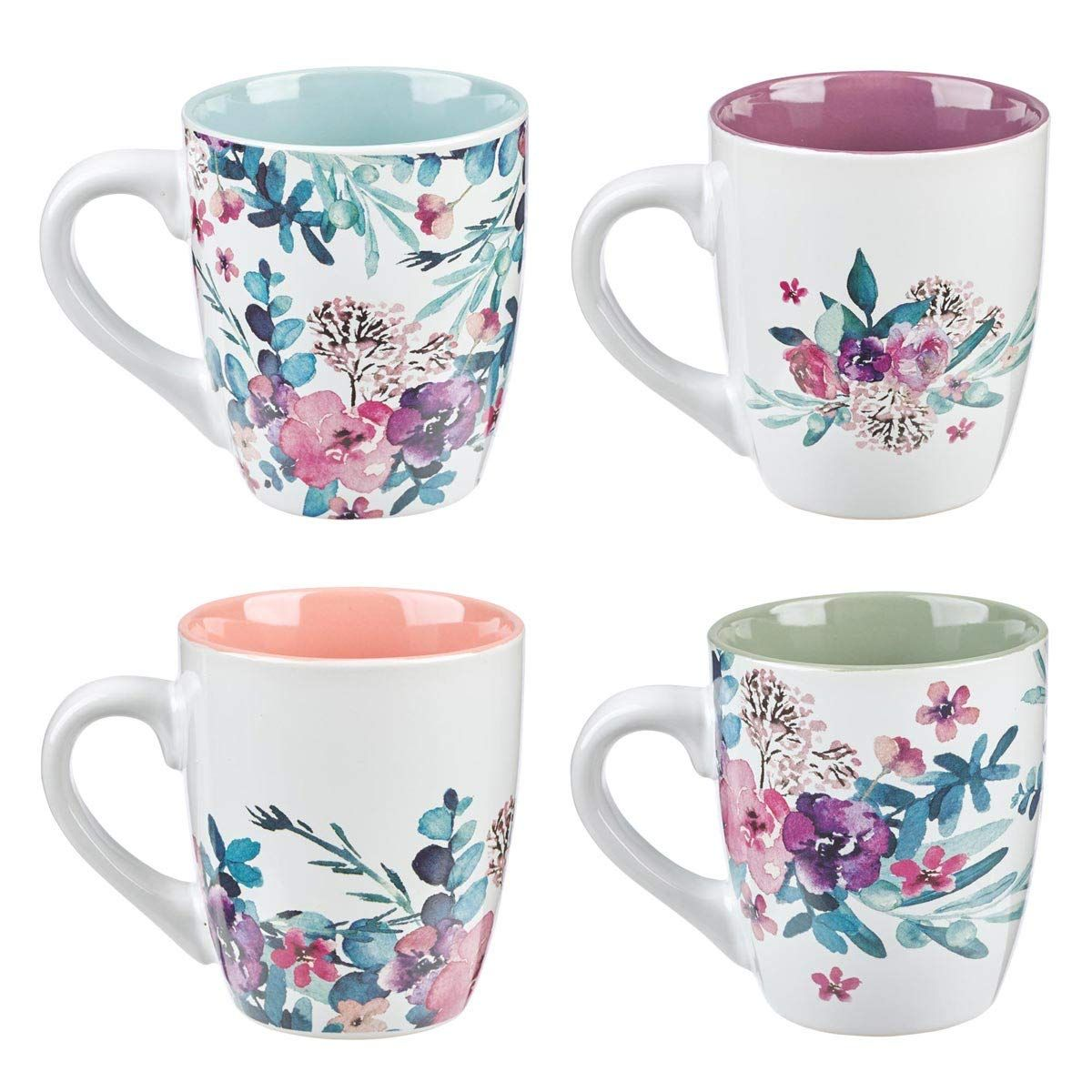 Rejoice Collection Set of 4 Coffee Mug Set mug