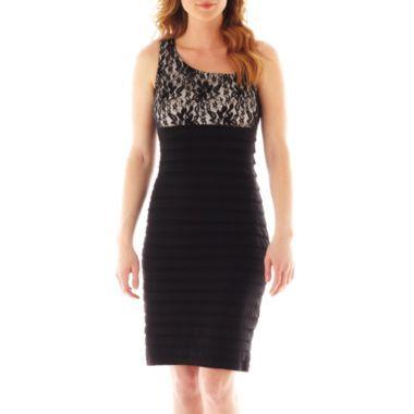 3c5d0566 Scarlett Sleeveless Shutter Pleat Lace Dress found at @JCPenney ...