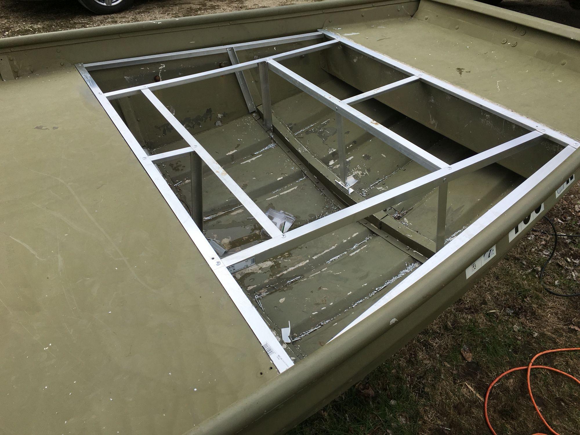My Jon Boat Build Boat Stuff Jon Boat Trailer Boat
