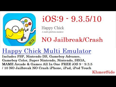 How To Install Happy Chick Multi Emulator, FREE iOS 9 - 9 3