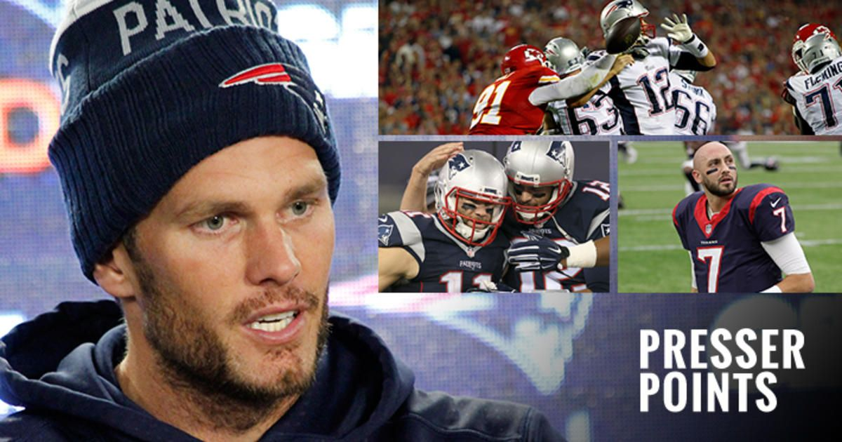 Presser Points Tom Brady 'Have to have our best week