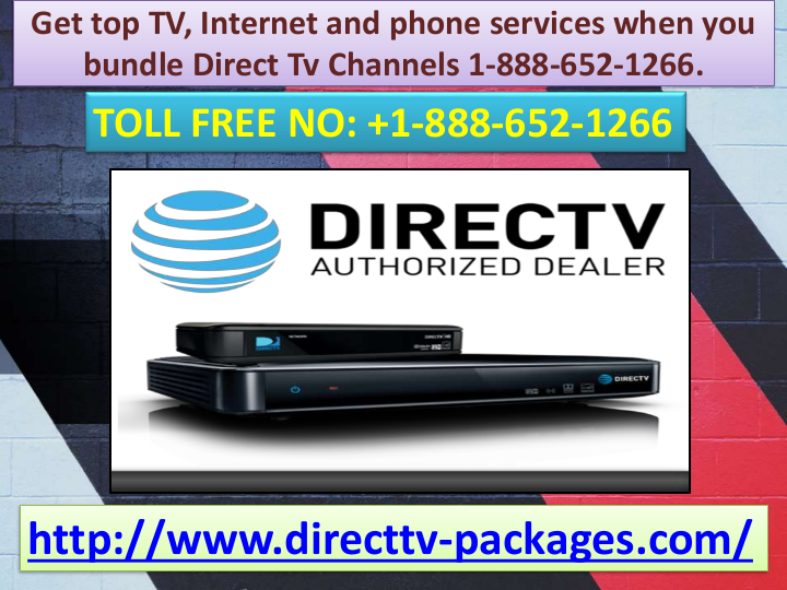 Get top TV, and phone services when you bundle