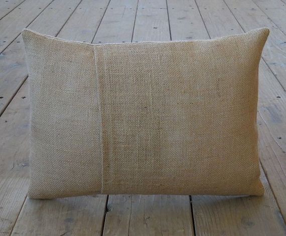 Yellow Tractor Burlap Pillow, Mighty Machine, Farmhouse Pillows, V20,  INSERT INCLUDED