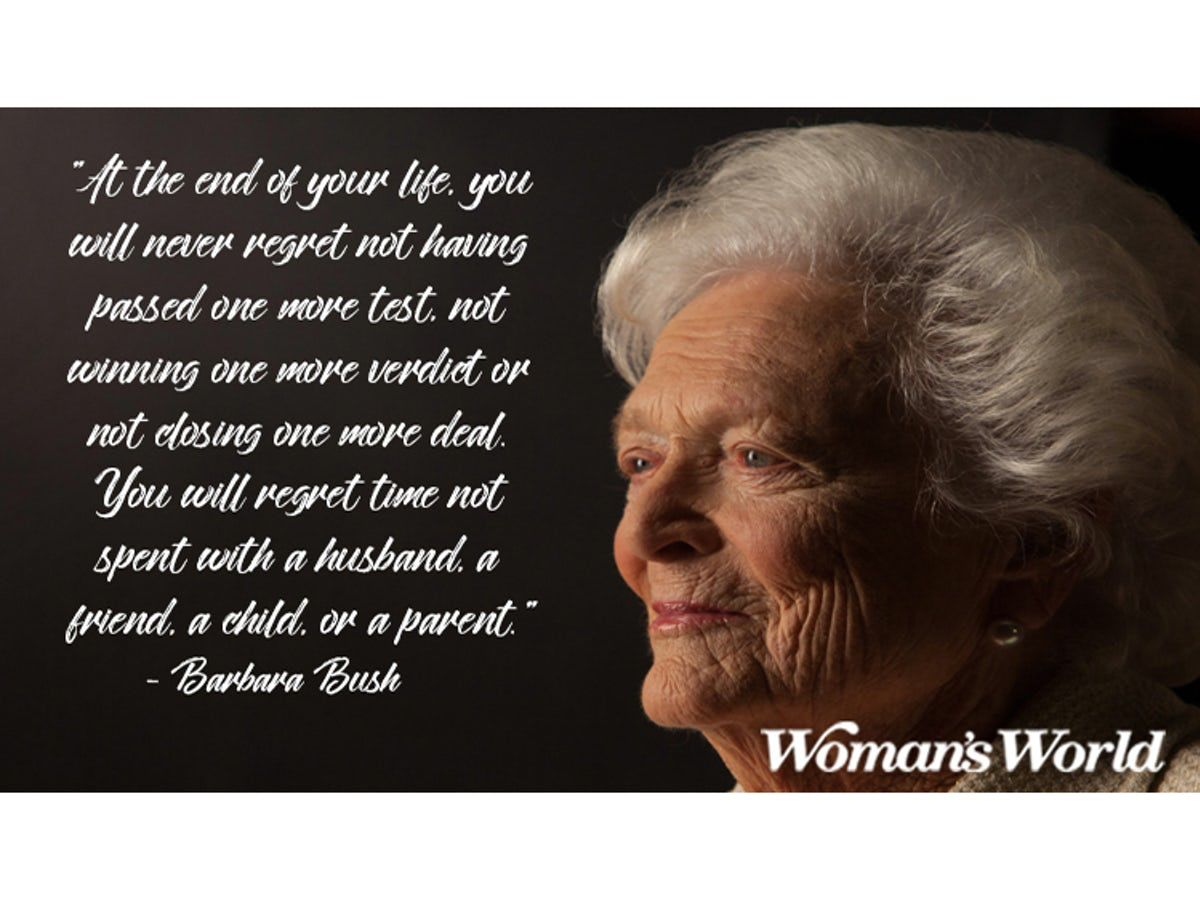 Barbara Bush Quotes to Remember the ClassyYetSassy First