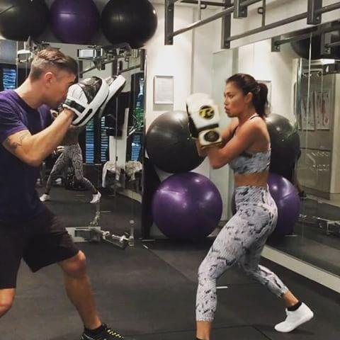 Nicole Scherzinger Boxing