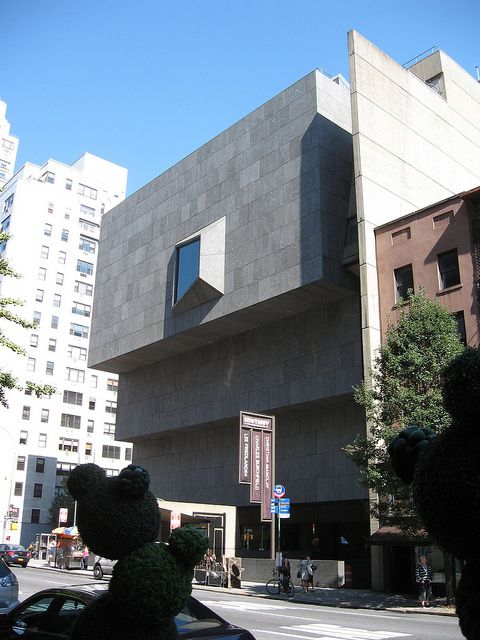 Whitney Museum of American Art (1963-66) in the Upper East Side of ManhattanWhitney Museum of American Art (1963-66) Architect: Marcel Breuer 945 Madison Ave. at 75th St. Lenox Hill Upper East Side, New York