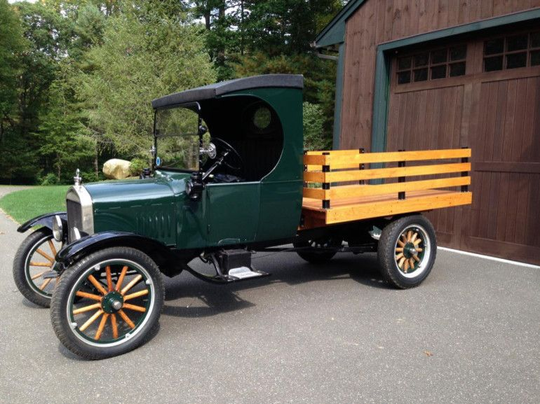 1924 Ford Model T Flatbed Classic Trucks Vintage Trucks