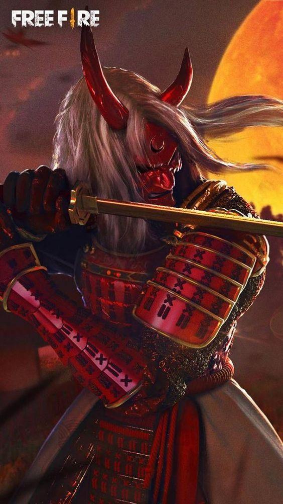 Wallpapers Free Fire Para Celular Fire Image Gaming Wallpapers Samurai Wallpaper Free fire samurai wallpaper hd