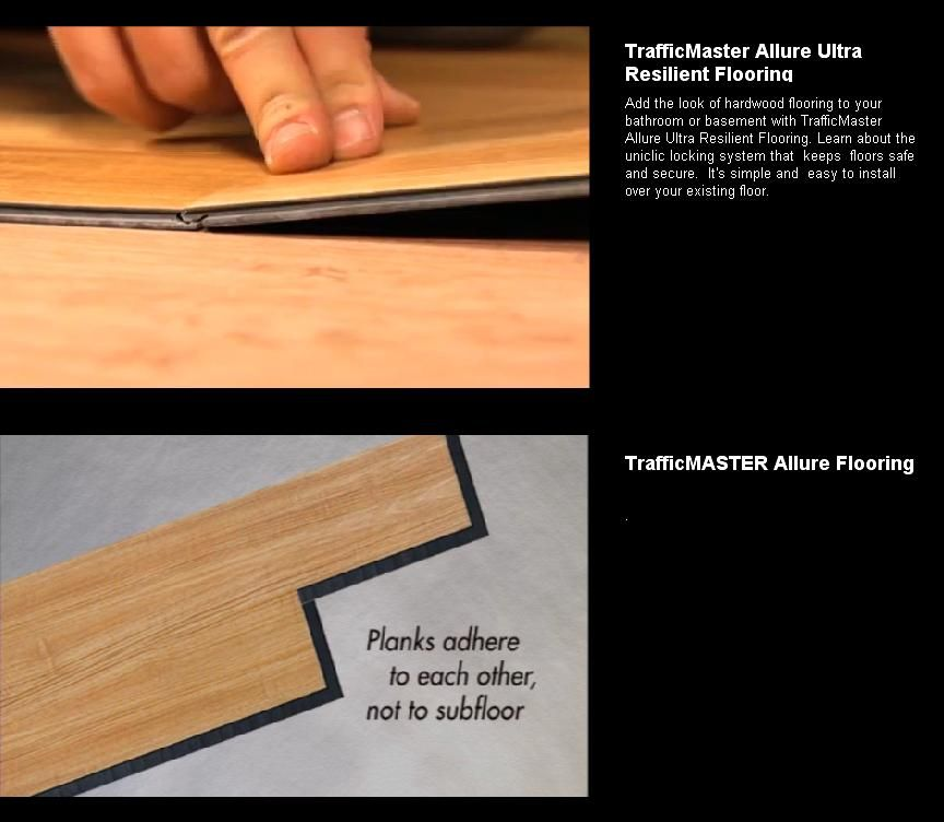 Allure Ultra Resilient Plank Flooring - Talk to us! Join the DIY Conversation Now...
