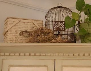 Decorating With Bird Cages And Other Bird Inspired Accessories Decorating Above Kitchen Cabinets Bird Cages Bird Cage Decor