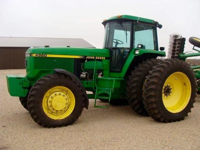 JOHN DEERE 4960 FWD