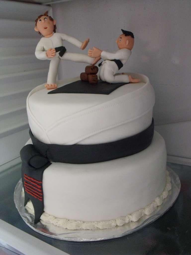 Karate Gi Cakes