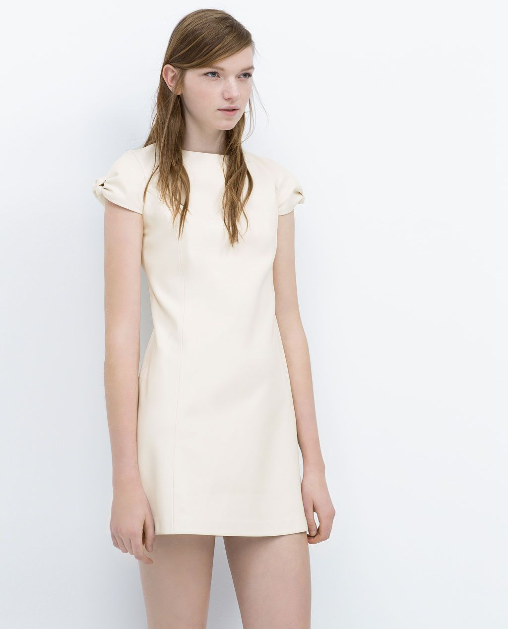 3bc01c7a FAUX LEATHER DRESS-Dresses-WOMAN   ZARA United States   Le Mode ...