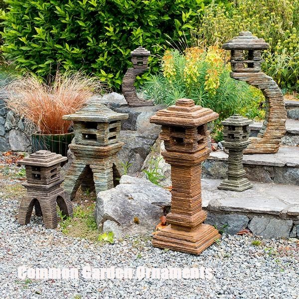 Some Of The Common Garden Ornaments Explored