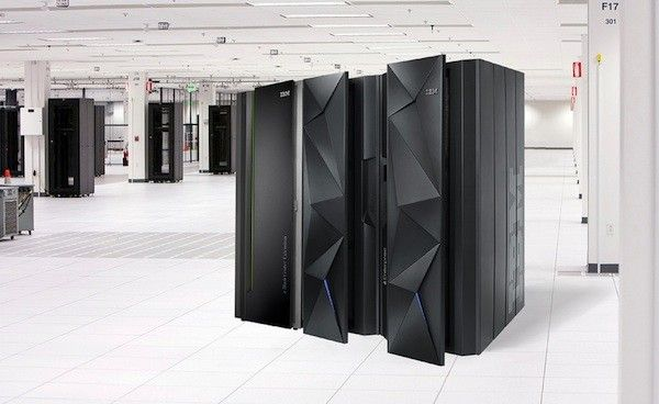 Ibm Debuts New Mainframe Computer As It Eyes A More Mobile Watson Ibm Hardware Components Computer