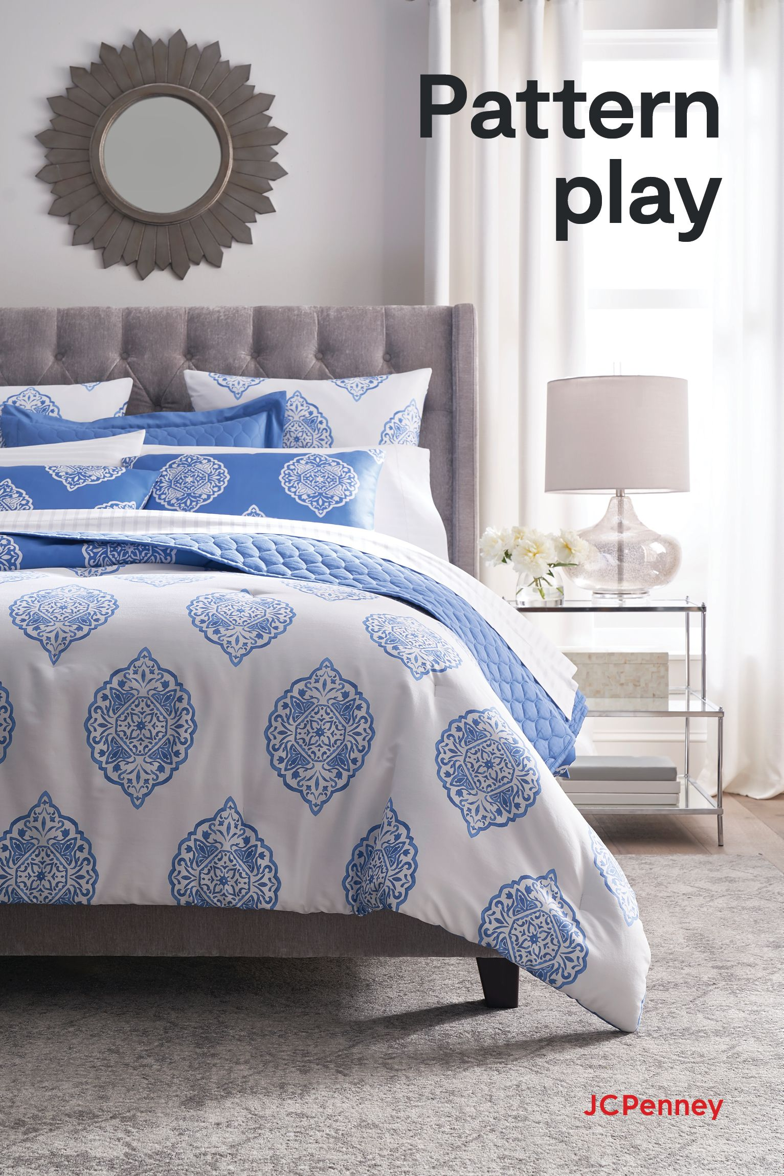 Create A Calm Serene Bedroom Oasis With New Mix And Match Liz