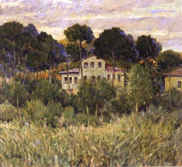 Galileo chini e la toscana belle poque art nouveau for Aziende arredamento toscana