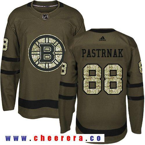 Adidas Bruins #88 David Pastrnak Green Salute to Service Stitched NHL Jersey  | Hockey Jerseys | Pinterest | Nhl jerseys, Hockey and Nhl hockey jerseys
