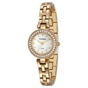 c01a0551eaa Relógio Feminino Analógico Mondaine 83262LPMVDM1 - Dourado ...