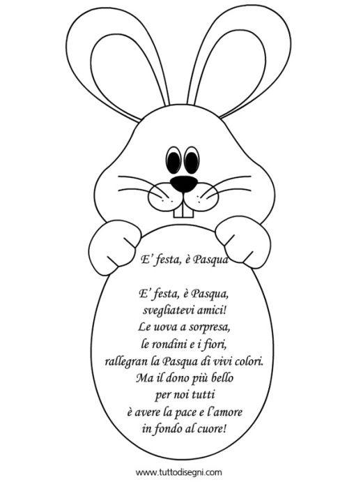 Filastrocche pasqua lavoretti festivit pinterest - Poesie primaverili per la scuola materna ...