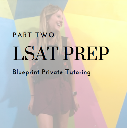 Private LSAT tutoring through Blueprint
