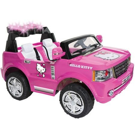 223a7f4bf Hello Kitty SUV 12-Volt Battery-Powered Ride-On | Best Ride On Cars ...