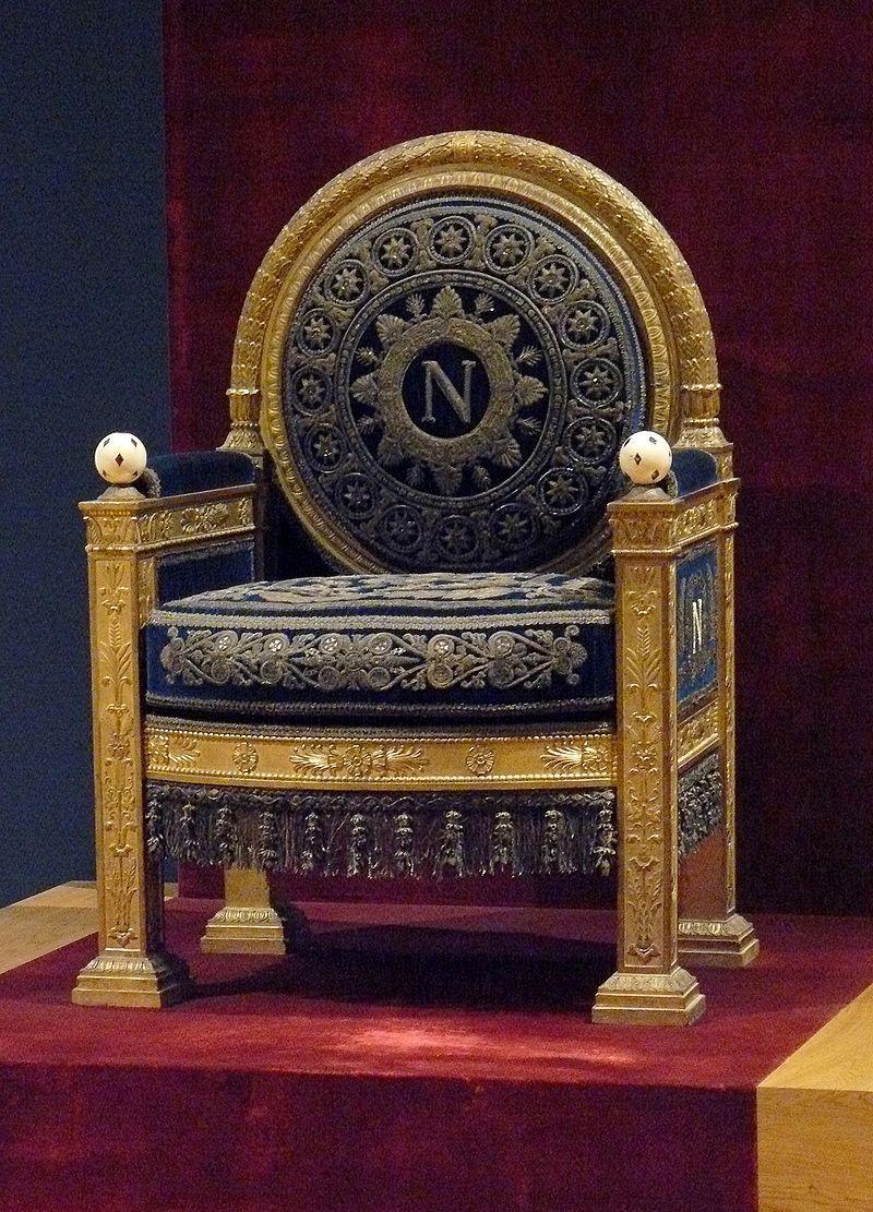 Trone De Napoleon Ier Georges Jacob Ebeniste Wikipedia Meuble De Style Meubles Maison De Poupee Mobilier De Salon