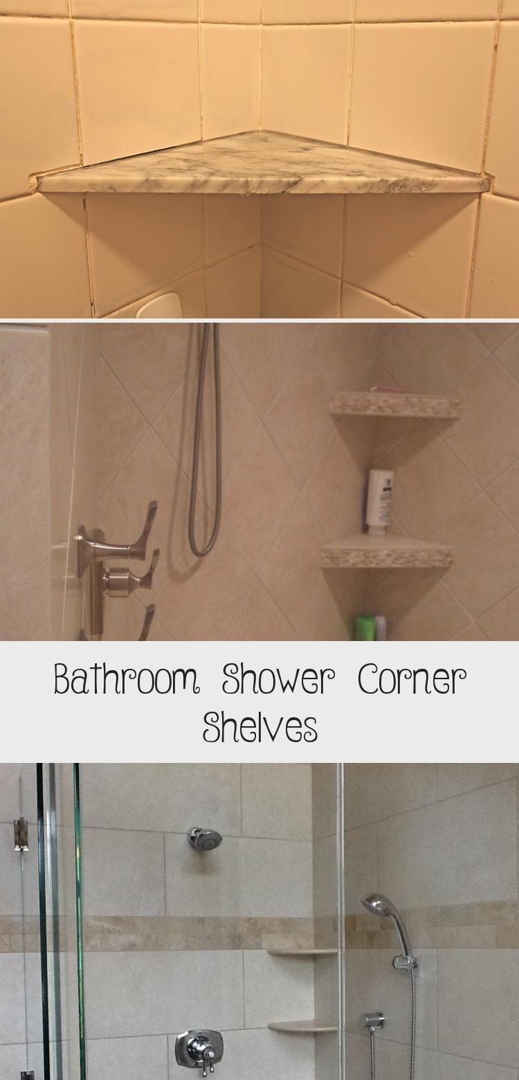 Bathroom Practical Shower Corner Shelves Walk Shower With Marble Shower Corner Shelves Shab In 2020 Shower Corner Shelf Bathroom Shower Accessories Corner Shelves