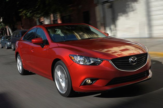 Exceptional 2014 Mazda6 Gets Up To 38 Mpg, Priced From $20,880*
