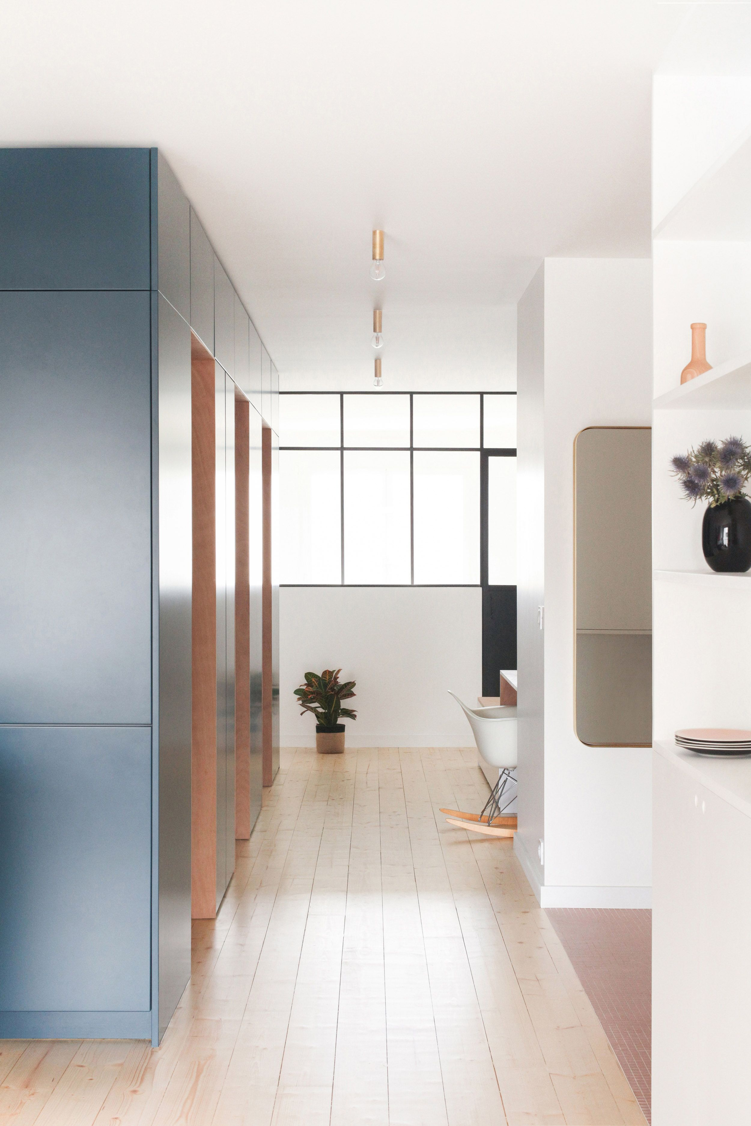 Heju Architecture Renovation Paris Appartement Contemporain