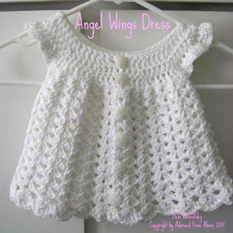 Free crochet baby dress patterns crocheted dress newborn 2 skeins free crochet baby dress patterns crocheted dress newborn 2 skeins white i love this cotton dt1010fo
