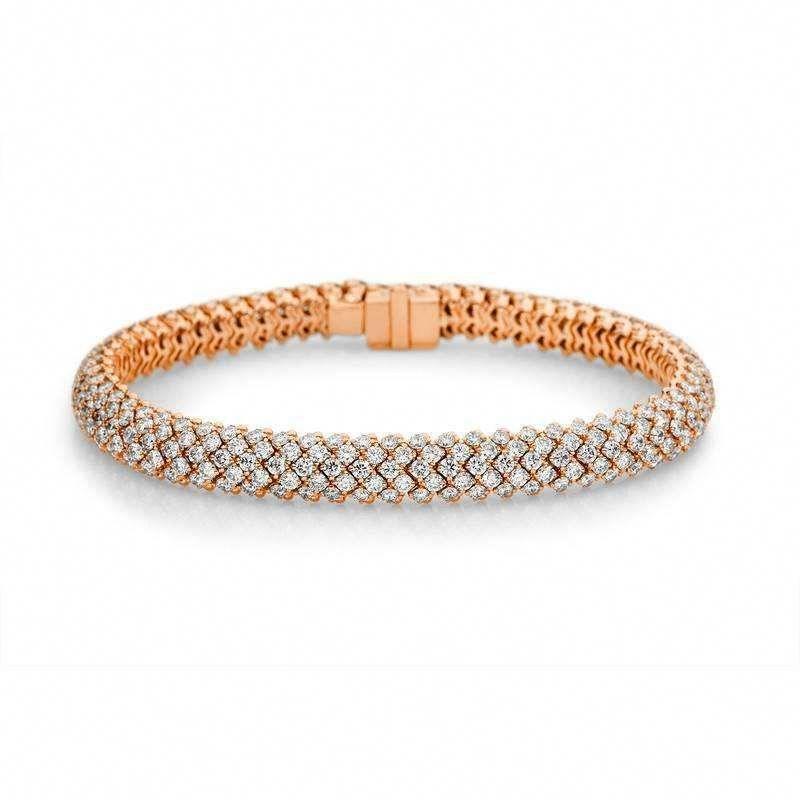Cheap Sale Estate 10k White Gold Over Round Brilliant Cut Diamond Tennis Bracelet 0.50 Cts Jewelry & Watches Fine Jewelry